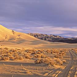 USA, California, Death Valley National Park, Eureka sand dunes