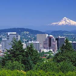 Mt Hood Portland Oregon USA