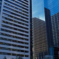 Skyscrapers in a city, Calgary, Alberta, Canada
