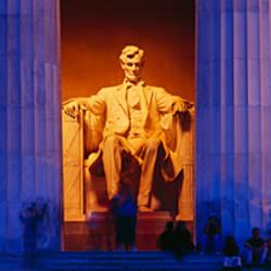 Lincoln Memorial, Washington DC, District Of Columbia, USA