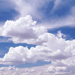 USA, Nevada, View of Cumulus clouds in the sky