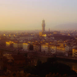High angle view of Florence, Italy