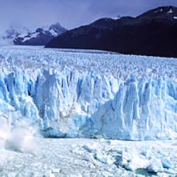 Glacier, Moreno Glacier, Argentine Glaciers National Park, Santa Cruz, Patagonia, Argentina