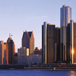 Morning, Detroit, Michigan, USA