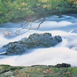 Falls of Leny River Teith Scotland
