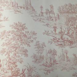 Scenic Toile Beige, Pink