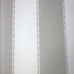 Candy Striper Taupe Kids Wallpaper