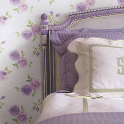 Rosebud Lavender Blush Kids Wallpaper