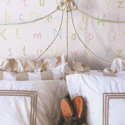 Alpha Doodle Pink Multi Kids Wallpaper