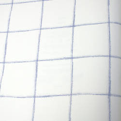 Stacked Block Dark Blue Kids Wallpaper
