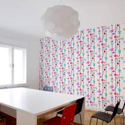 Totem Blossom - Wallpaper Tiles