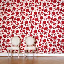 Tres Bien, Sanguine - Wallpaper Tiles