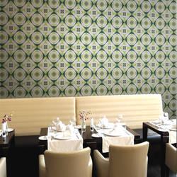 Mod Madness, Fern - Wallpaper Tiles