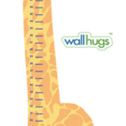 Giraffe Growth Chart - Wall Decal