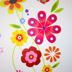 Bright Garden - Wall Decal