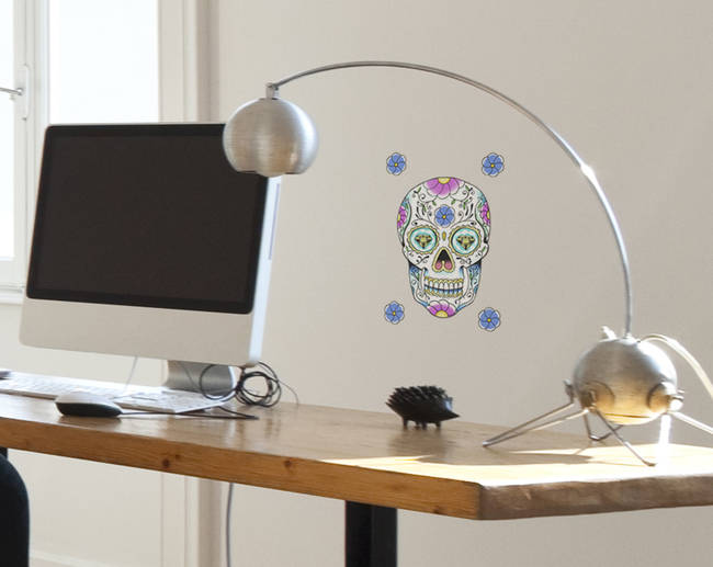 Sugar Skull - Wall Decal