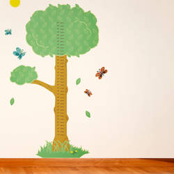 Tree Growth Chart - Wall Decal