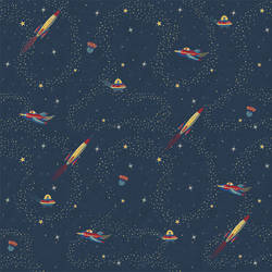 Space Wallpaper by Cynthia Charette