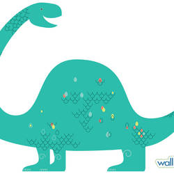 Brontosaurus - Dinosaur Wall Decal