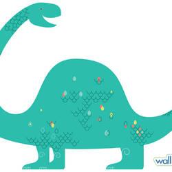 Brontosaurus - Dinosaur Wall Decal