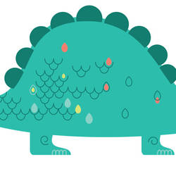 Stegosaurus - Dinosaur Wall Decal