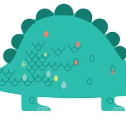 Stegosaurus - Dinosaur Wall Decal