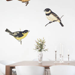 Sparrows - Vintage Wall Decal