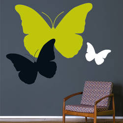 Butterflies, Large - Wall Decal