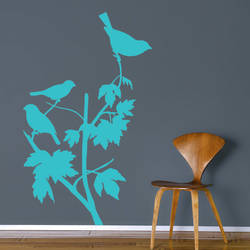 Bird Perch - Wall Decal