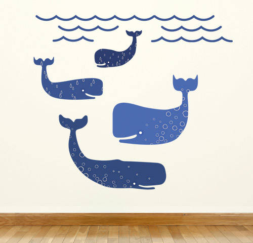 Whales - Wall Decal