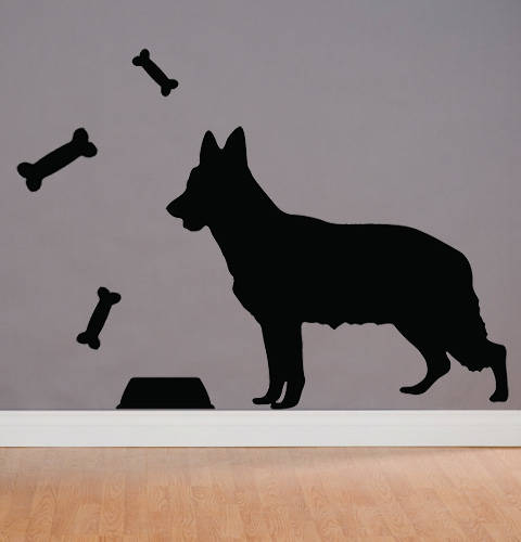 German Shepherd - Wall Decal