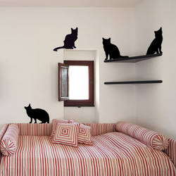 Housecats - Wall Decal