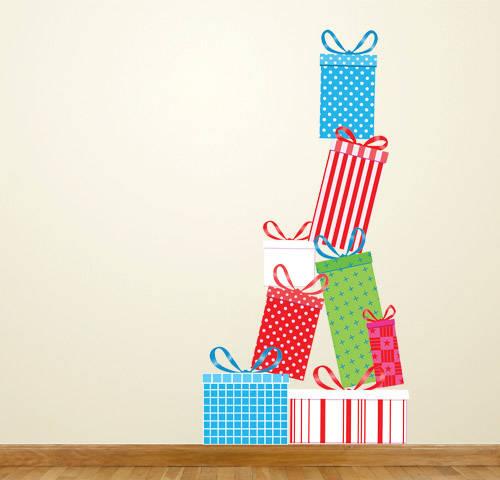 Christmas Gifts - Christmas Wall Decal