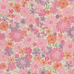 Floral Playground, Pink Beauty