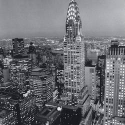 Chrysler Building Giant Art Mural Wallpaper: 659