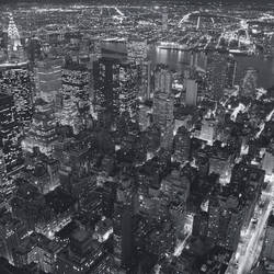 Empire State Building East View Giant Art Mural Wallpaper: 661