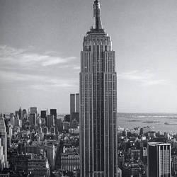 Empire State Building Giant Art Mural Wallpaper:671