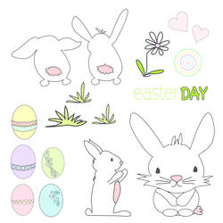 Easter Day BUNNIES: SWC:003