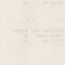 White Grasscloth handmade natural wallcovering: Be41001w