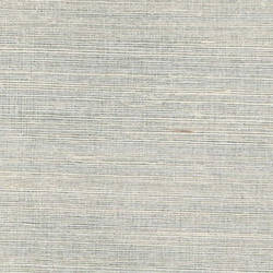 White Grasscloth and Silver Mylar handmade natural wallcovering: We51042g