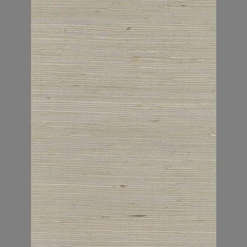 Grey Silver Grasscloth handmade natural fiber wallcovering: Ge3127g