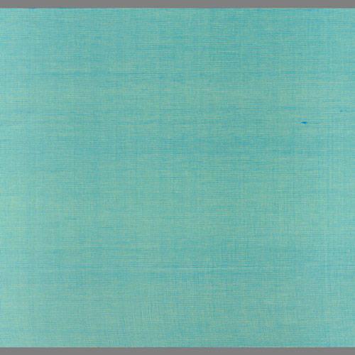 Turquoise Japanese Silk custom-made natural fiber wallcovering: JS13