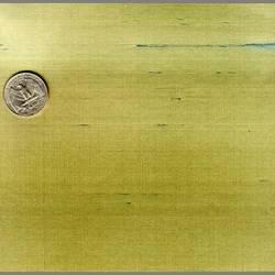 Gold/Green Japanese Silk custom-made natural fiber wallcovering: JS05