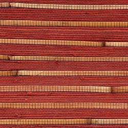 Red Bamboo Wallcovering