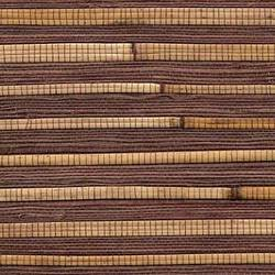 Dark Brown Bamboo Wallcovering