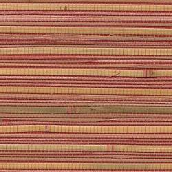 Red and Brown Bamboo Wallcovering