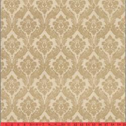 Bone Ramone velvet flocked wallpaper: VCC0637