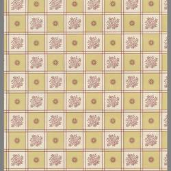 Traditional floral checkered wallcovering: 202792