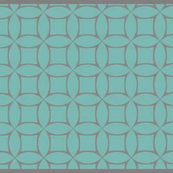 Modern Geometric Screen Printed Wallpaper
