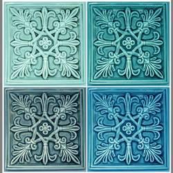 Fleur De Lis Tile vinyl applique flooring